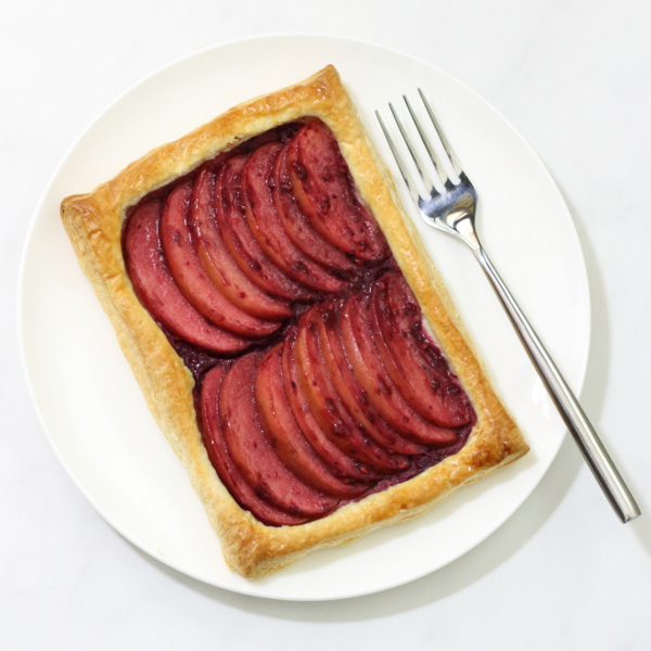 Blackberry and Apple Tart Recipe - made using everyday ingredients for a simple yet elegant dessert!