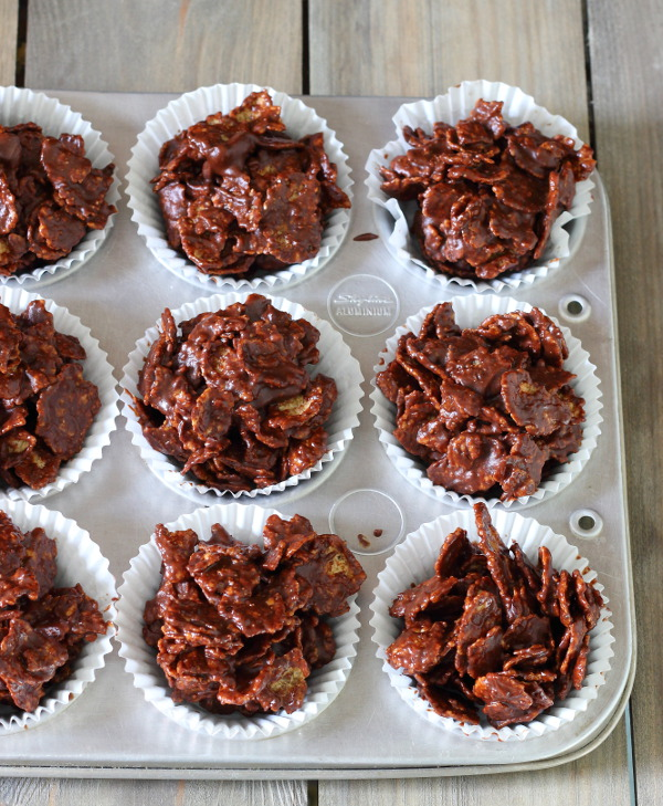 Rice crispy cakes recipe cocoa powder